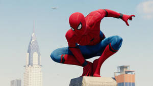 Stark Suit. (Spider-Man Homecoming)