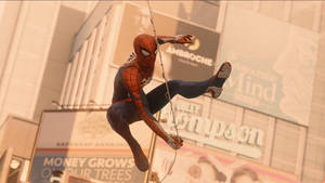 Web Swing (Spider-Man PS4)