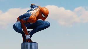 Epic Spidey Pose 1. (Spider-Man PS4).