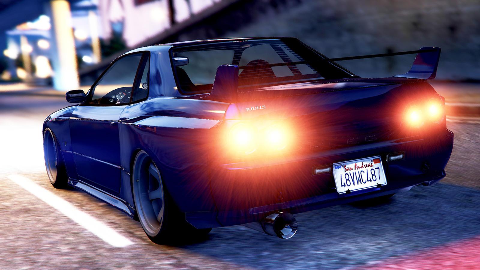 Import Nights (Nissan Skyline GT-R R34).