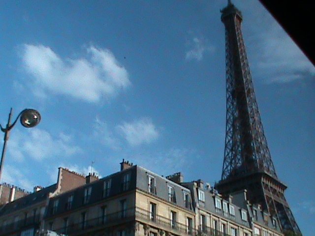 By the Eiffel Tower by Mysteriouspizza