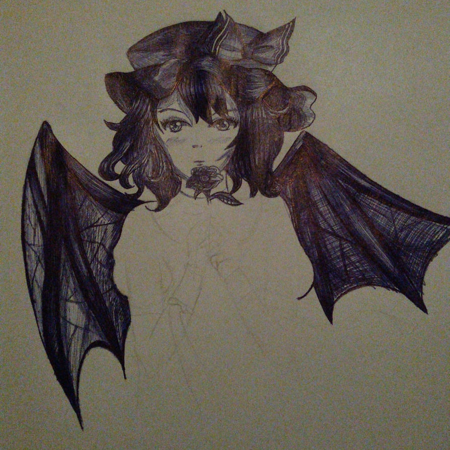Remilia Scarlet (not finished) by AgentKaas