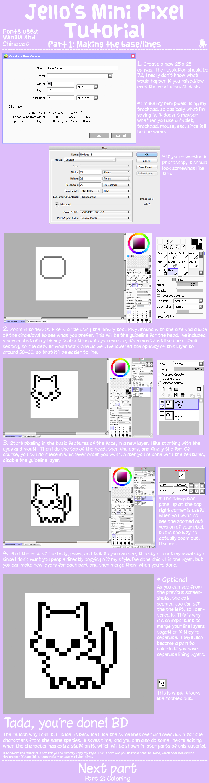Mini Pixels Part 1 by jennawing