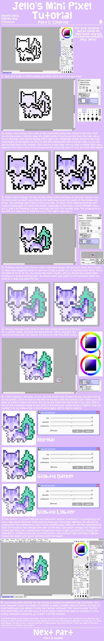 Mini Pixels Part 2 by twinelights
