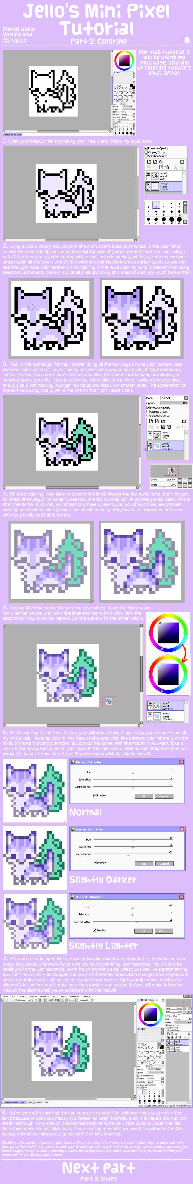 Mini Pixels Part 2 by jennawing