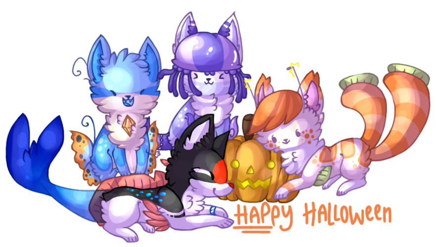 Halloween by jennawing