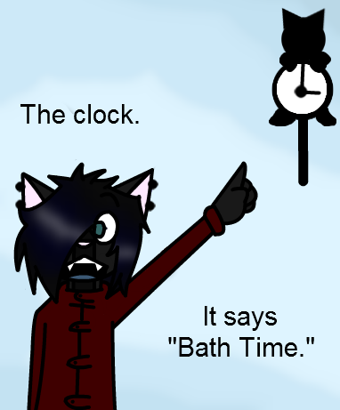 Always obey the clock by Werewoofwoof