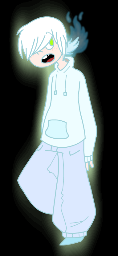 Little ghost boy by ploofy-floop