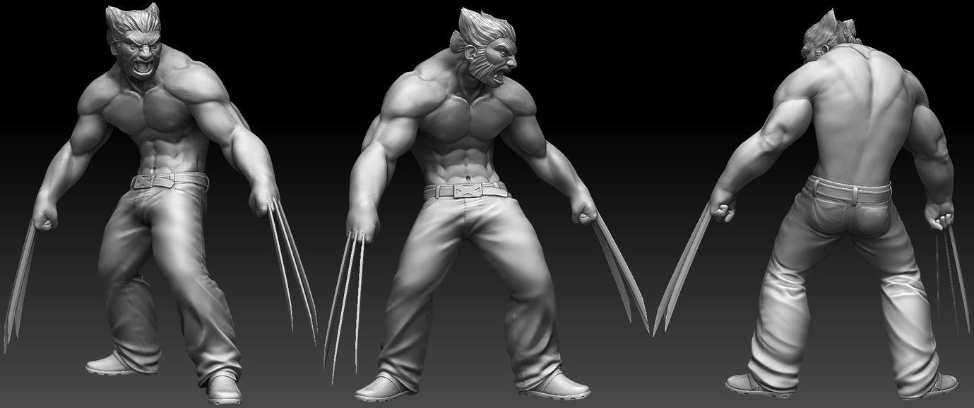 WIP Wolverine 1 by Pratikah