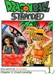 Dragon ball Stranded Manga Cover