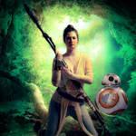 Star Wars : Training Rey