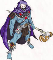 Skeletor: Bad-Ass by thew40