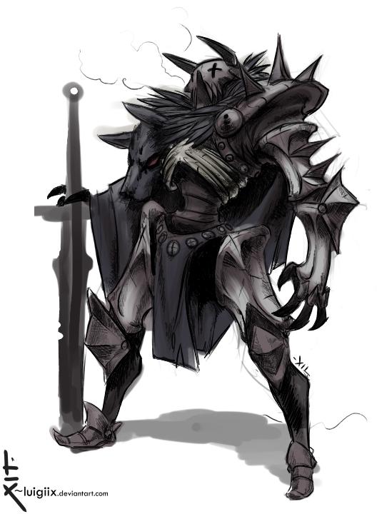 Undead Knight Concept By Luigiix On Deviantart