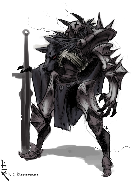 Undead Knight Concept By Luigiix On Deviantart