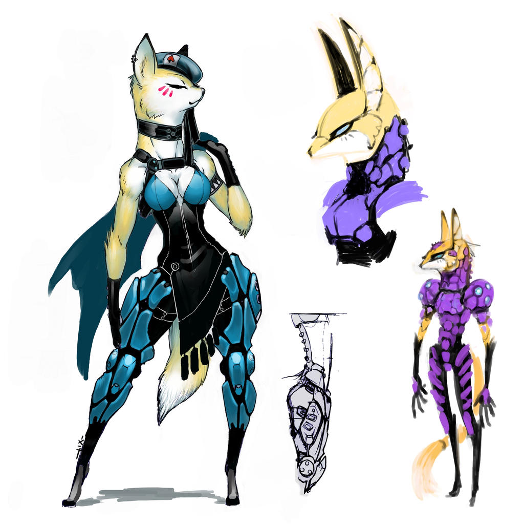 Fox9 Vulpus concept by luigiix