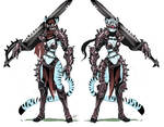 Black Knight Tigress Concept art