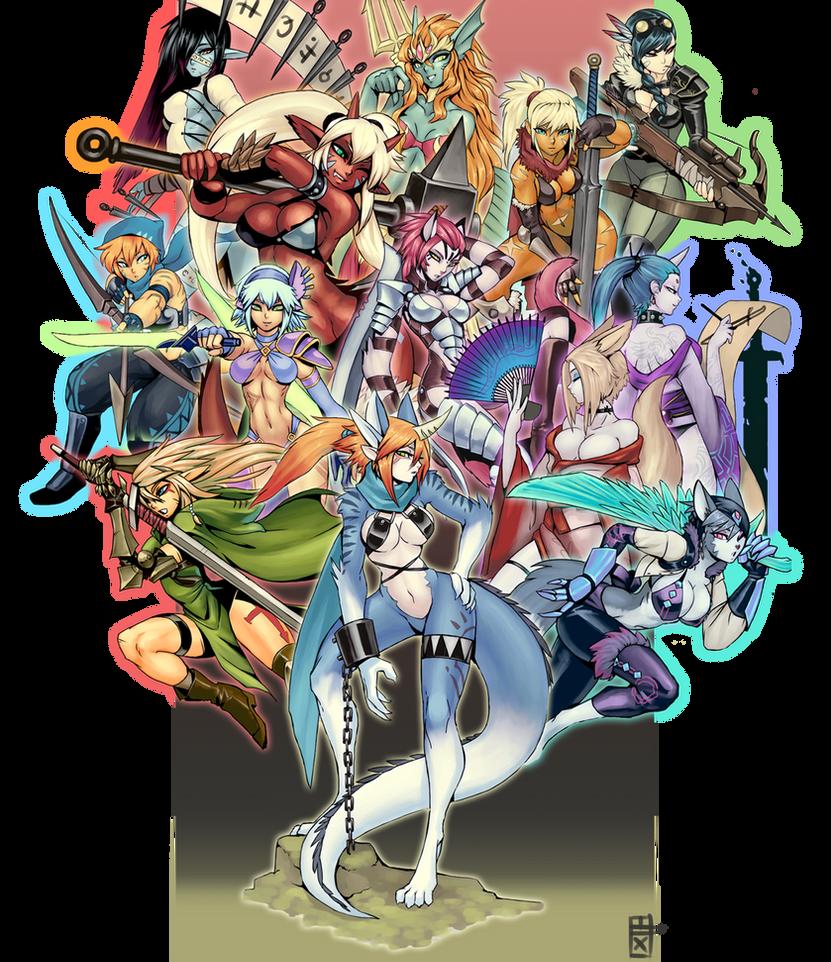 Fantasy Puzzle Complete by luigiix