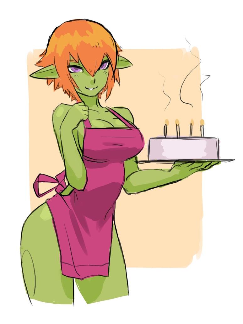 Kira wishes you a Happy Birthday! (Sketch) by luigiix