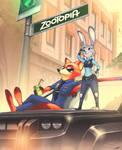 Watching over Zootopia