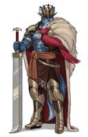 Cerinia Puzzle: King by luigiix