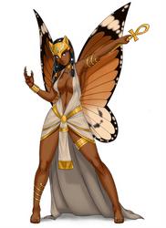 Fairy priestess of Bast by luigiix