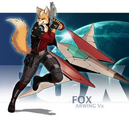 Fox by luigiix