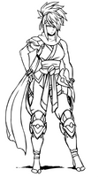 Xiang sketch (alt outfit)