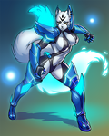 Diamond Mist with Bravery armor