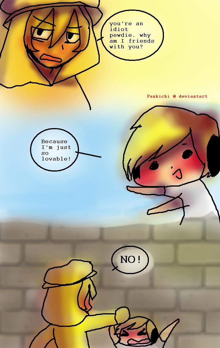 Lazy comic by Punkichi