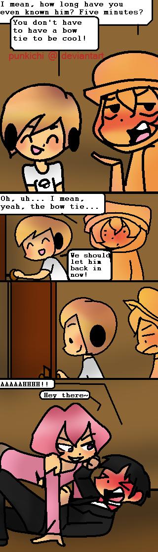 An adventure of masculinity by Punkichi