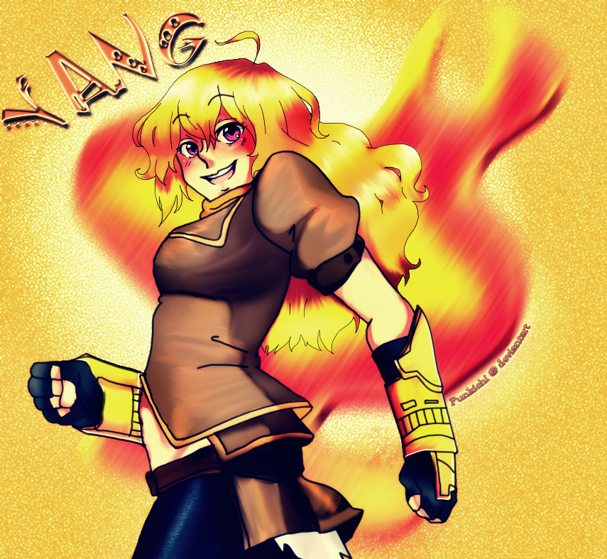 Yang Xiao Long Wallpaper: Yang Xiao Long By Punkichi On DeviantArt