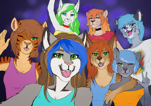 [Gift] Smile Pussycats!
