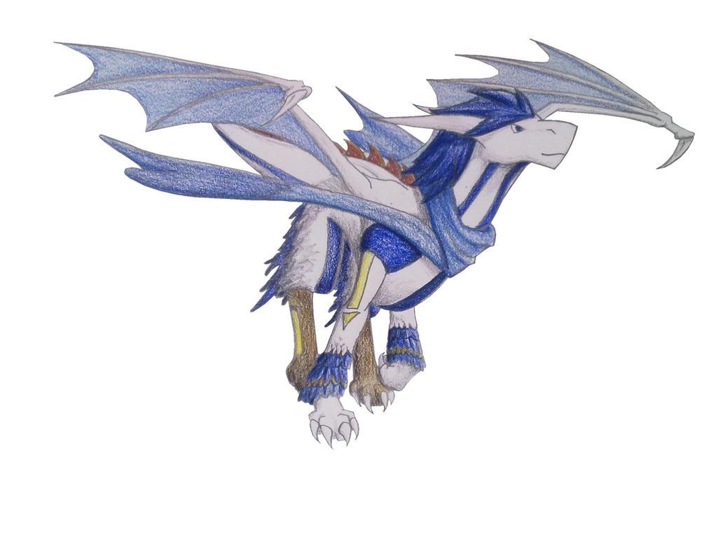 Dragon Kaito by IdrewAcow