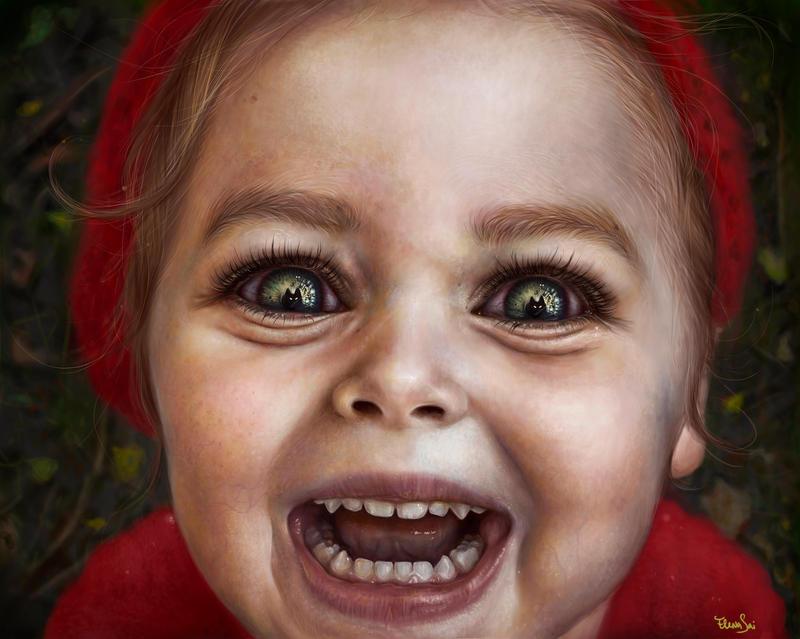 Little Red Riding Hood by ElenaSai