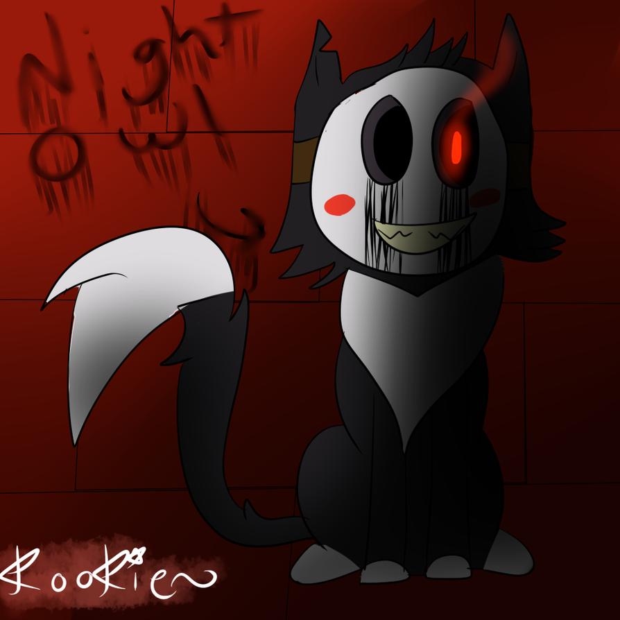 Nightowl (OC) by kookiekrummble