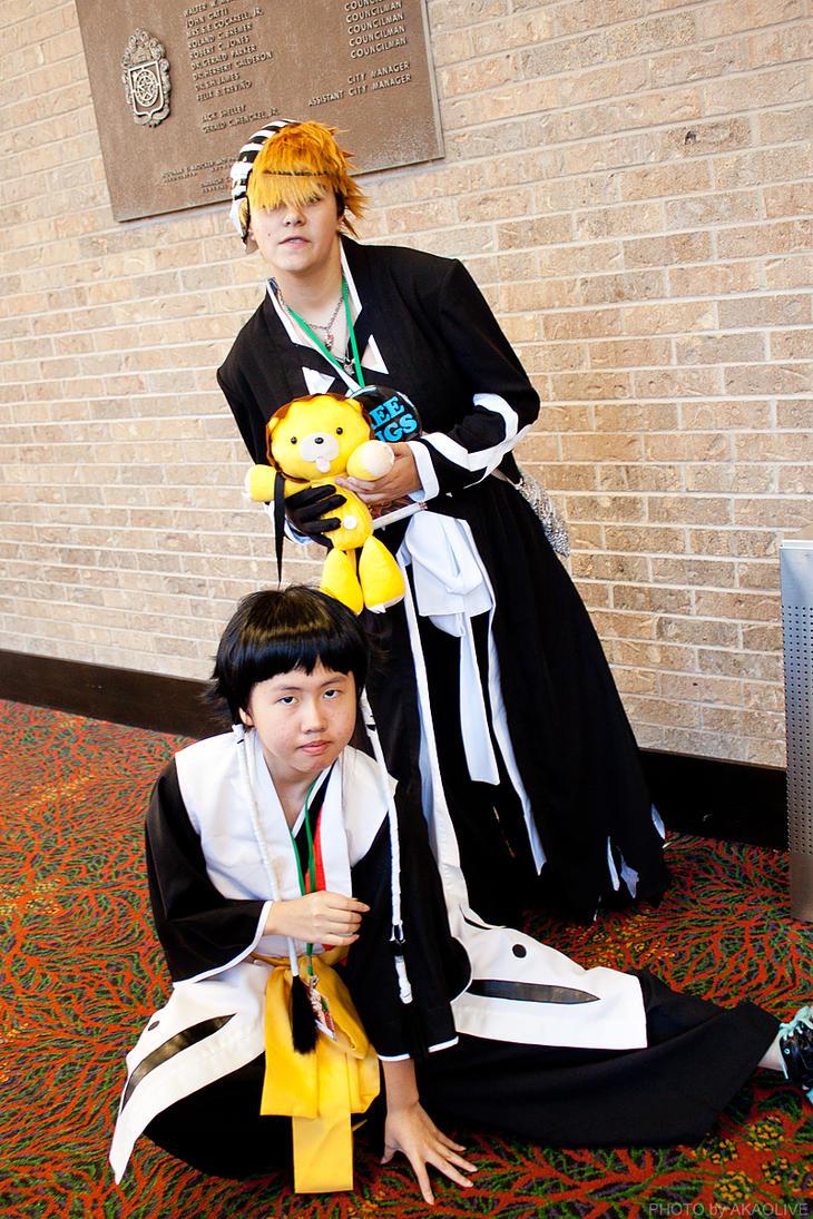 Ichigo and Soifon @ San Japan 6 by akaolive