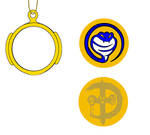 Gold power coin
