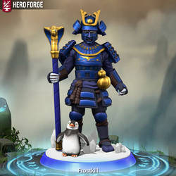 Frostkill daedric princes of Ice (2)