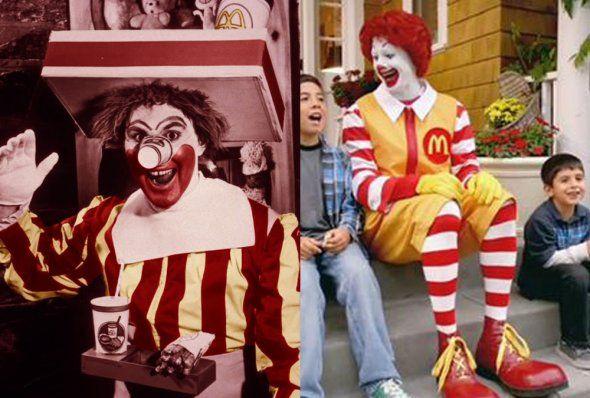 Ronald McDonald the hamburger happy clown