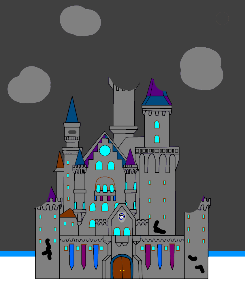 Slither manor in ruin