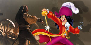 Captain Jack Sparrow vs Captain Hook