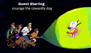 Scooby doo meets courage the cowardly dog (2021)