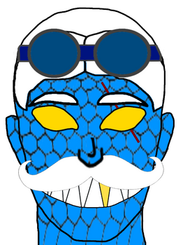 Doctor Slither's new face