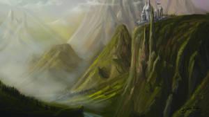 landscape speedy by hotpinkscorpion