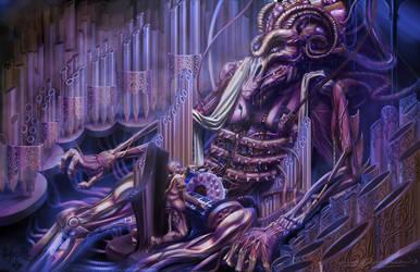 Spoils - Thabbashite Organist by hotpinkscorpion