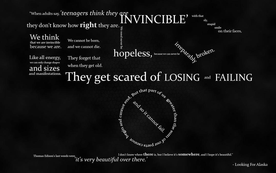Alaska Quotes Looking For Alaska: Looking For Alaska By Dizzyspiral On DeviantArt