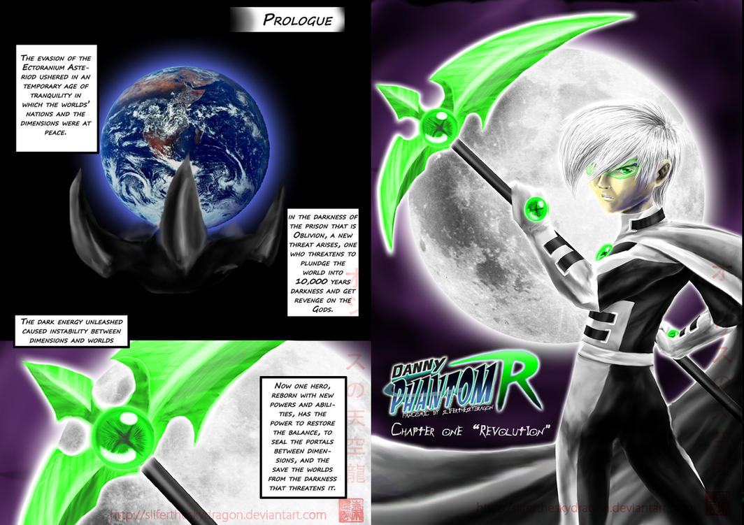 Danny Phantom Rebirth page 1+2 by slifertheskydragon