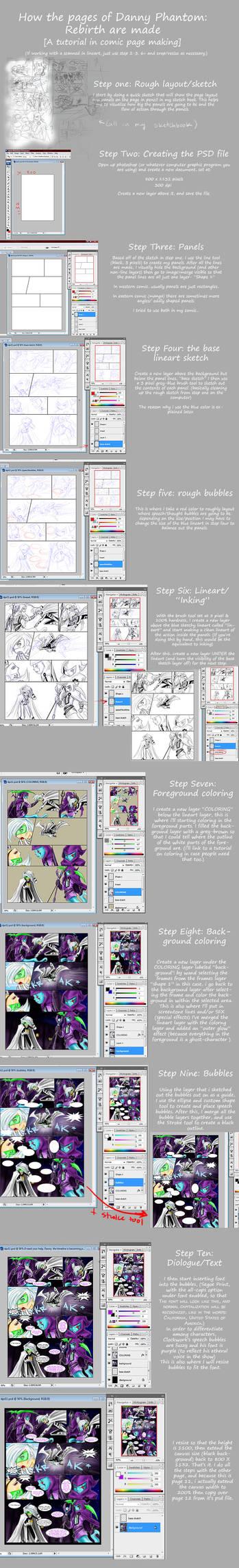 TUT- DP:R comic page making by slifertheskydragon