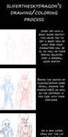 TUT General drawing+coloring by slifertheskydragon