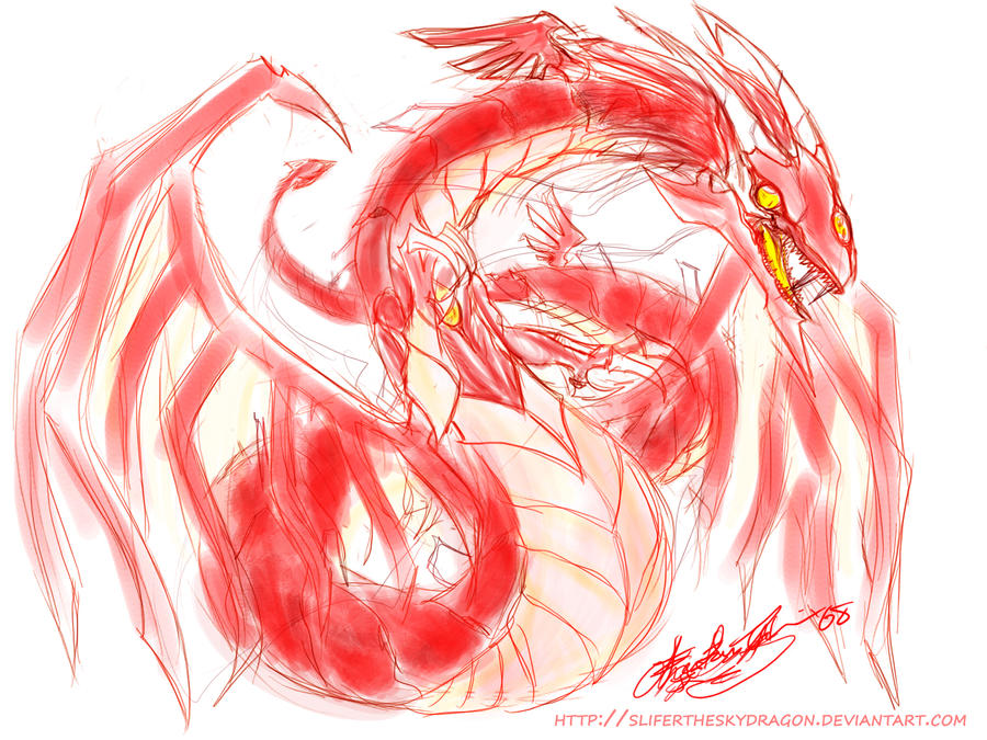 crimson dragon wallpaper - photo #31